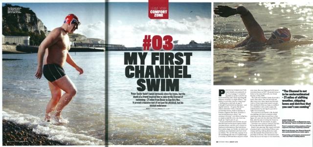 My First Channel Swim